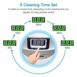 Image 5 - デジタル超音波クリーナーバスケットジュエリー腕時計歯科 2.5L 60 ワット 40 125khz 加熱超音波超音波野菜クリーナーバス