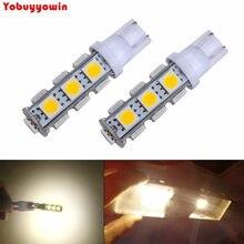 Lampada t10 pingo pingao 13 leds smd 5050 branco/vermelho/amarelo