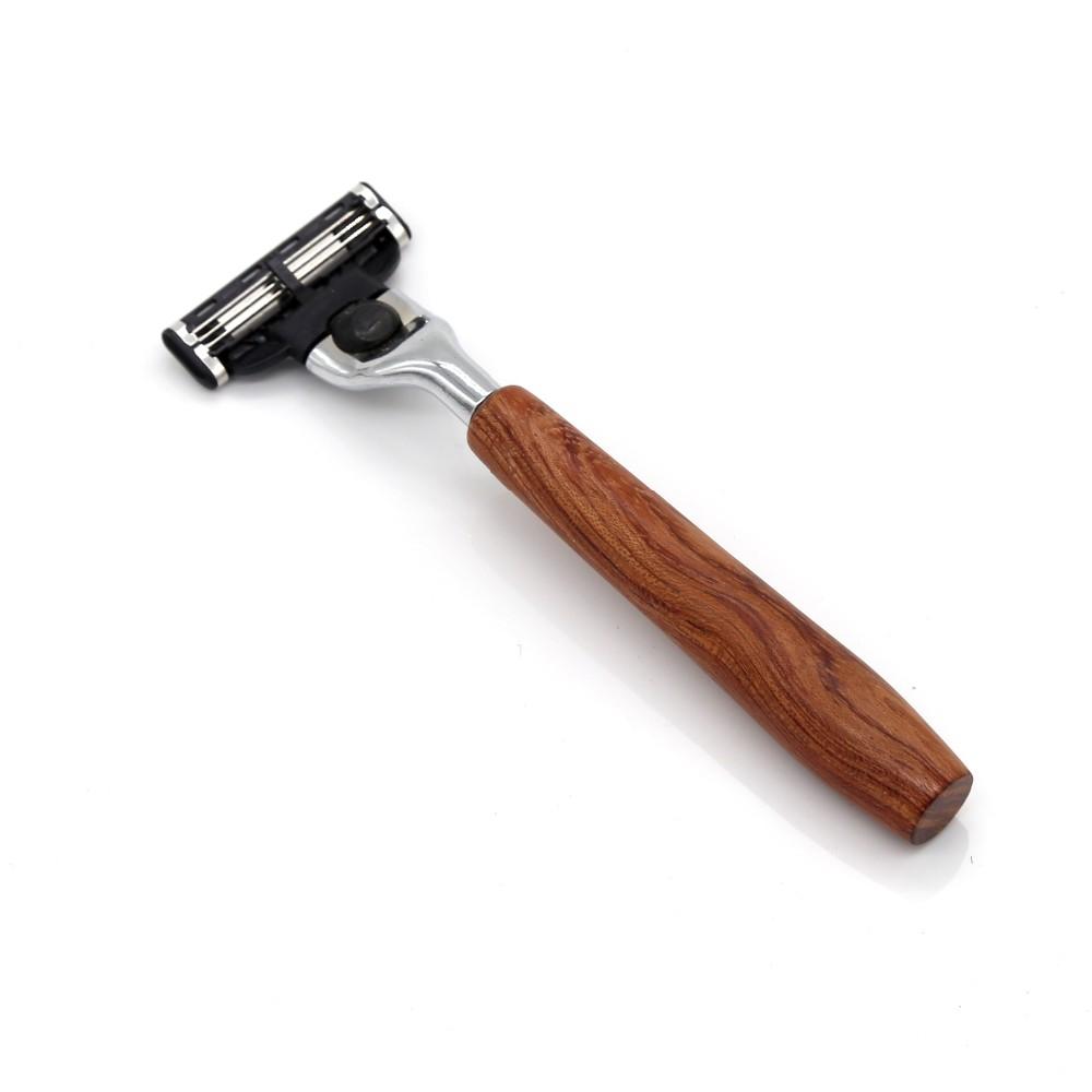 wood handle razor