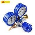 High Quality Multi Function Durable Oxygen Pressure Meter Rubber Protect Gas Flow Regulator Gauge Antifreeze Mastech Tester Tool
