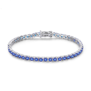 Image 4 - CMajor 925 sterling silver jewelry classic tennis bracelet prong setting cubic zirconia bracelets for women Mothers Day Gift