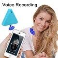 ITag inteligente Sem Fio Bluetooth Rastreador Kid Criança Saco Da Bagagem itag Key Finder anti-lost alarme de Gravação de Voz de Estacionamento Em Busca