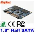 "L Kingspec 1.8 ""ДЮЙМОВЫЙ Половина SATA III SATA II Модуль MLC 8 ГБ 2-канальный Для Hpme HD Плеер, Tablet PC, UMPC, И Т. Д. Жесткие Диски HDD"