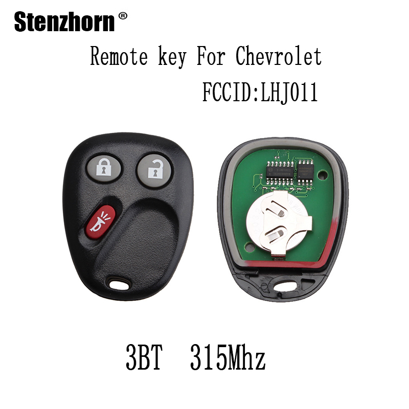 Stenzhorn 315Mhz Keyless Entry Remote Key Fob For Hummer H2 Chevrolet Avalanche Cadillac Escalade 2003-2006 LHJ011 Original keys