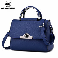 2018 Japan and Korean Style Fashion Brand Women Bags High Quality PU Leather Handbags Cute Small Female Messenger Shoulder Bags