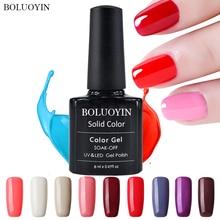 1pcs 8ml Wine Red Color Gel Polish Long Lasting Nail Soak Off UV LED Varnishes DIY Art Design