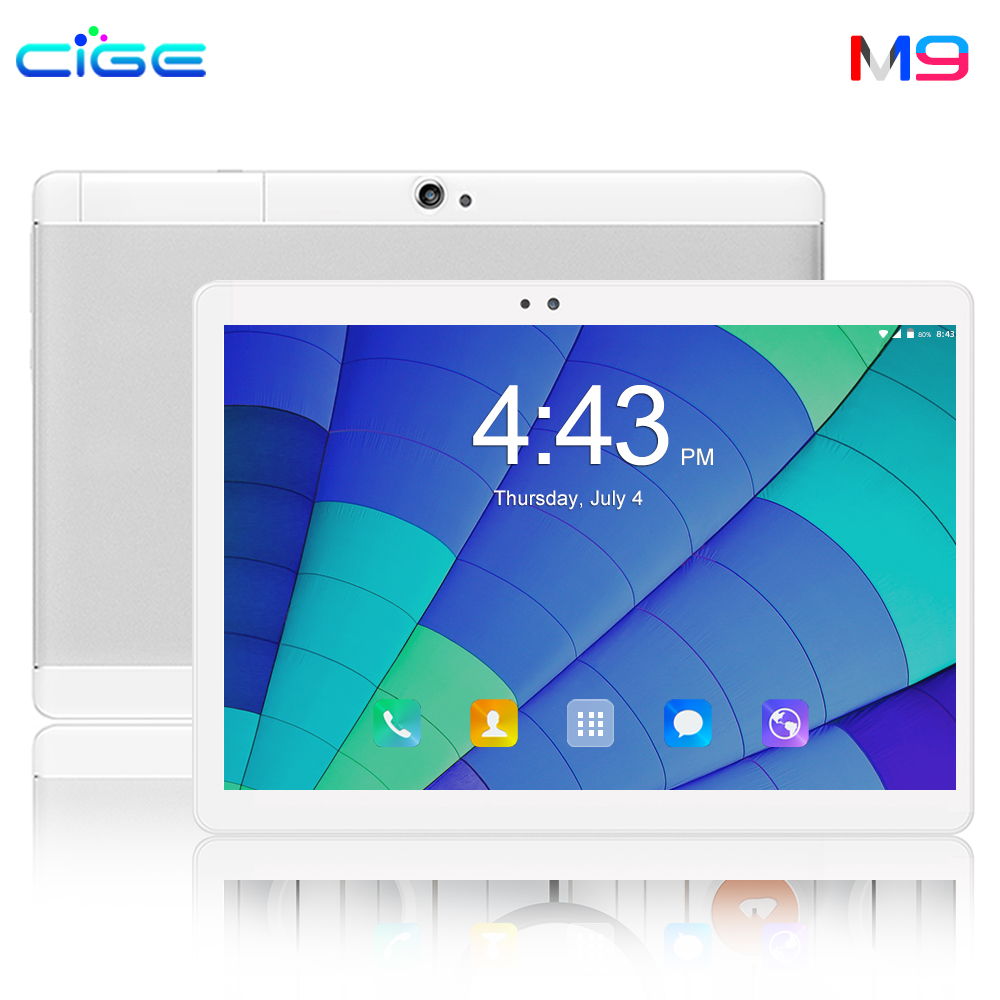 Russian 10 Inch Tablet Android 8.0 Octa Core 6GB RAM 64GB ROM 8 Cores 1280*800 IPS Screen GPS Tablets 10.1 Tablet Pc For Gaming