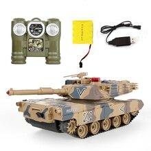 2016 Tanque de Control Remoto Contra Tanques RC Superior entre padres e hijos contra Control Remoto por infrarrojos con torreta modelo de Tanque de Batalla Coche de juguete