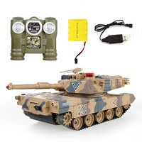 2016 Top Remote Control Tank Against RC Tanks parent child against infrared Remote Control with turret Tank model Battle Toy Car