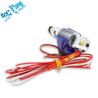J Head Hotend Extruder Kit For V6 3D Printers Part Cooling Fan Bracket Block Thermistors Nozzle