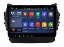 BIG 9.0 inch 1024*600 Quad Core Android 5.1 Fit Hyundai ix45 SANTA FE 2013 2014 – 2016 Car DVD PLAYER DVD  Navigation GPS Radio