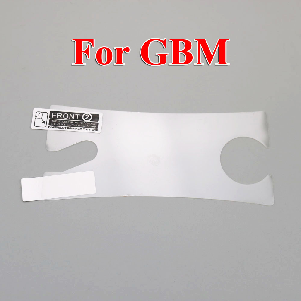 Image 4 - ChengHaoRan 1PC Plastic Clear For GBP Screen Lens Protector For GB GBA GBC GBA SP Protective Film-in Replacement Parts & Accessories from Consumer Electronics