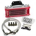 Universal de la motocicleta enfriador de aceite del radiador y CNC placa de refrigeración 110CC