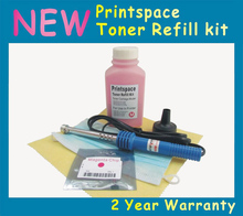 NON-OEM Toner Refill Kit + Chip Compatible With Samsung Xpress SL C430 C430W C480 C480W C480FW CLT-404S CLT-K404S CLT-Y404S