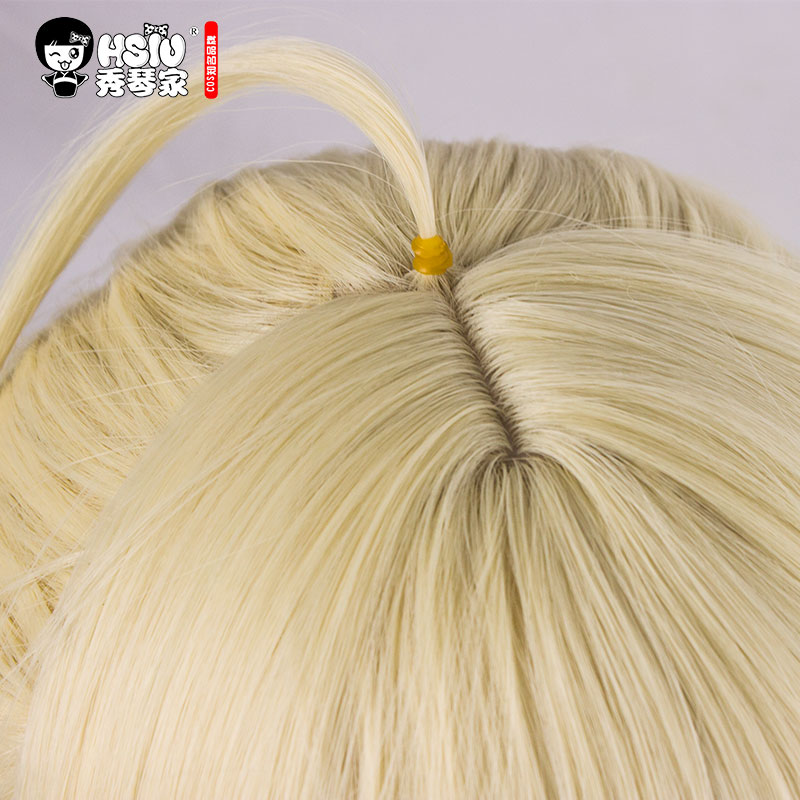 Image 3 - HSIU NEW High quality Saber Arturia Pendragon Cosplay Wig of Fate Costume Play Wigs Halloween Costumes Hair free shipping-in Anime Costumes from Novelty & Special Use