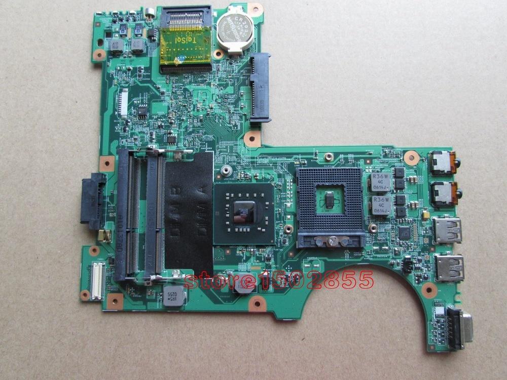 086G4M FOR DELL N4020 Notebook PC System board mainboard 48.4EK06.011  GM45 DDR3 100% tested  цены онлайн