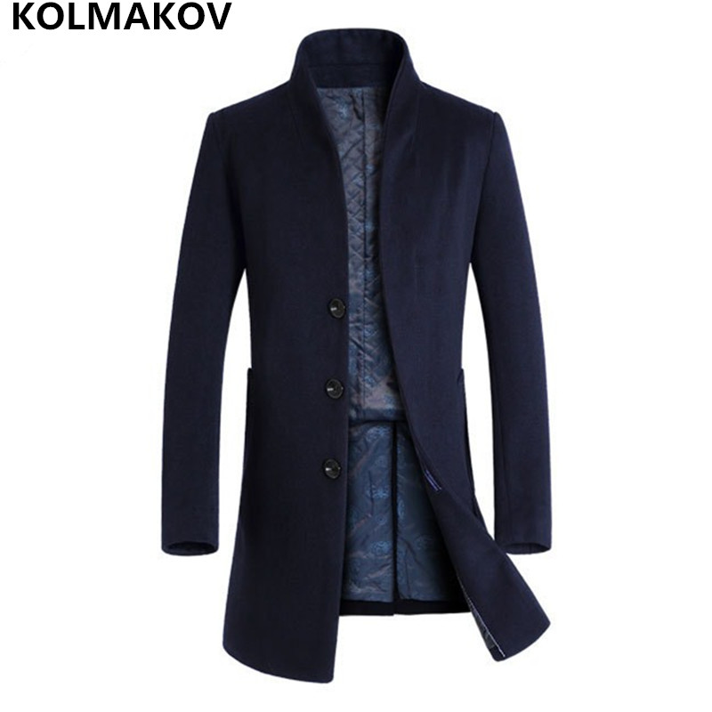 Back To Search Resultsmen's Clothing Tireless 2018 Fashion Mens Woolen Coat Business Casual Windbreaker Slim Fit Coats Men Business Outwear High Quality Classic Trench Coat Jackets & Coats