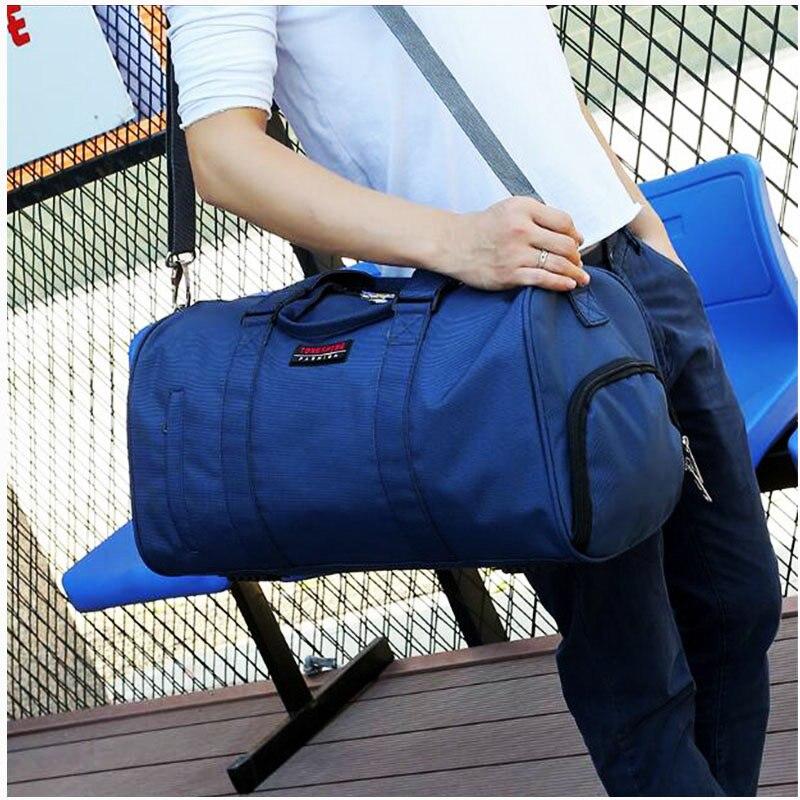 Hot Sale Mens Gym Bag Су өткізбейтін Оксфорд - Спорттық сөмкелер - фото 4