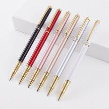 2PCS WINNING Electroplating Paint Metal Gel Pen 0.5mm Roller Pen Signing Pen Free Laser Engraving Text