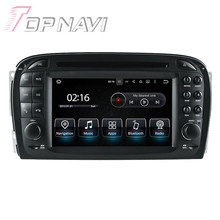 6.2 inch Quad Core Android 5.1.1 Car Radio Stereo Video Player For Benz SL R230:(2001-2004.6) With Multimedia DVD GPS Stereo