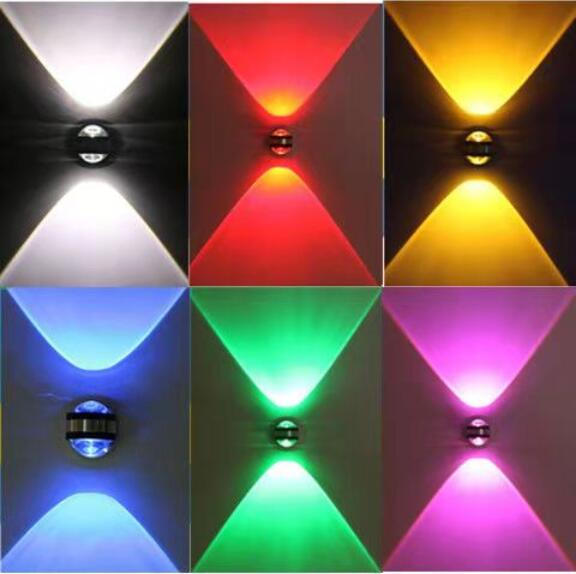 Up down wall lamp led modern indoor hotel decoration light living room bedroom bedside TV background picture lamps aisle braUp down wall lamp led modern indoor hotel decoration light living room bedroom bedside TV background picture lamps aisle bra
