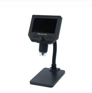 """Image 3 - 600X microscopio usb microscopio video digitale della macchina fotografica 8 LED VGA Microscopio per la saldatura Con 4.3 """"HD Schermo OLED G600"""