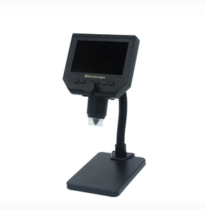 "Image 3 - 600X مجهر usb كاميرا فيديو مجهر رقمي 8 LED VGA مجهر لحام مع 4.3 ""HD شاشة OLED G600"
