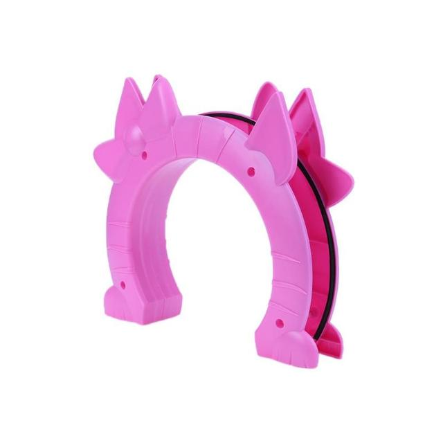 Cute Pet Cat Puppy Dog Gates Door Smart Dog Door Free Access To Pet