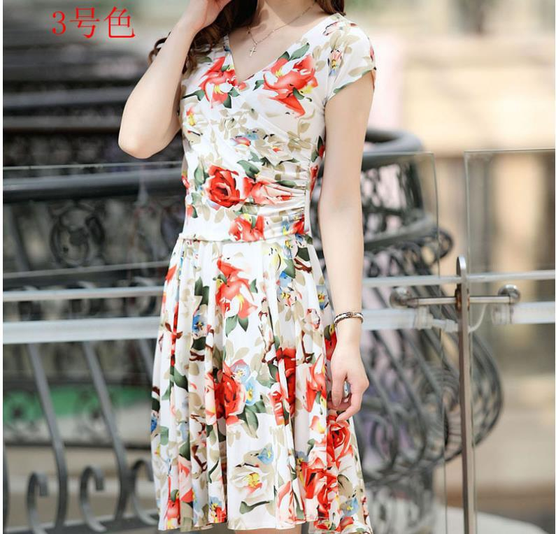 Платье штамп