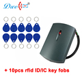 DWE CC RF считыватель карт доступа rfid система управления дверью weigand 26 34 rfid считыватель