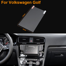 Car Styling 8 Inch GPS Navigation Screen Steel Protective Film For Volkswagen Golf Control of LCD Screen Car Sticker