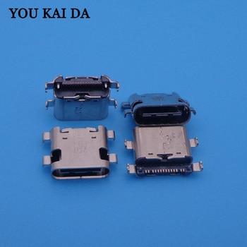 300pcs/lot type C micro USB Dock Connector Charging Port socket jack for ZTE C2016 W2016 ZMAX Pro Z981