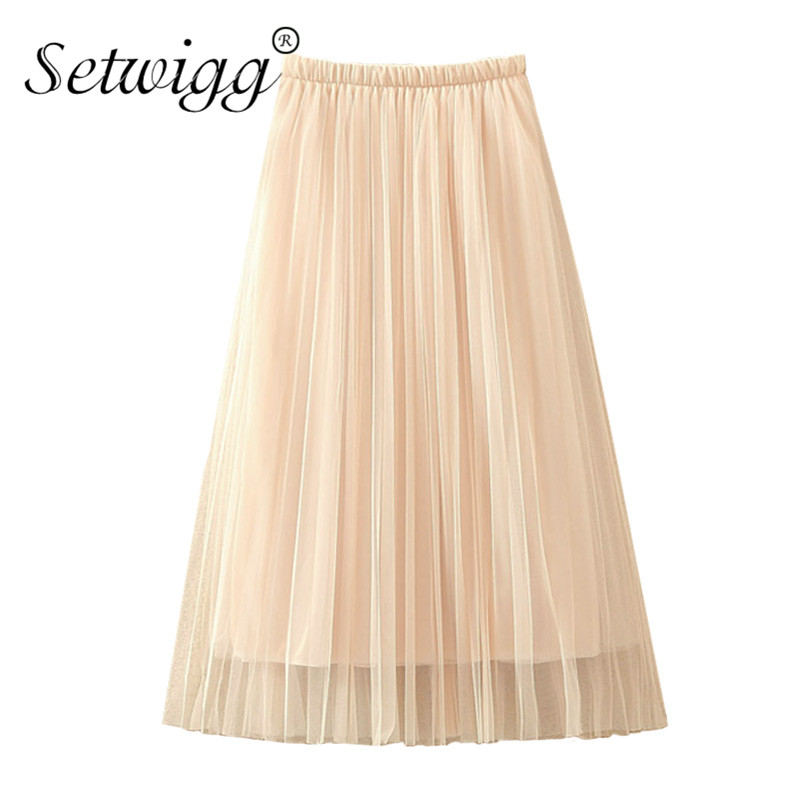 12762ce70 Setwigg-Womens-capas-tulle-largo -a-line-Tutu-plisado-Faldas-estiramiento-cintura-dulce-color-nude-malla.jpg