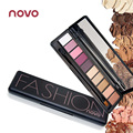 Novo Makeup Palette Natural peach color Eye Makeup Ten Colors nude Eye Shadow Makeup Shimmer Matte Eyeshadow Palette Set BN010