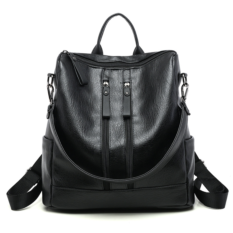 Womens fashion mochilas college travel bag ladies leather backpack college school bag for student girl ladies daily backpack Womens fashion mochilas college travel bag ladies leather backpack college school bag for student girl ladies daily backpack