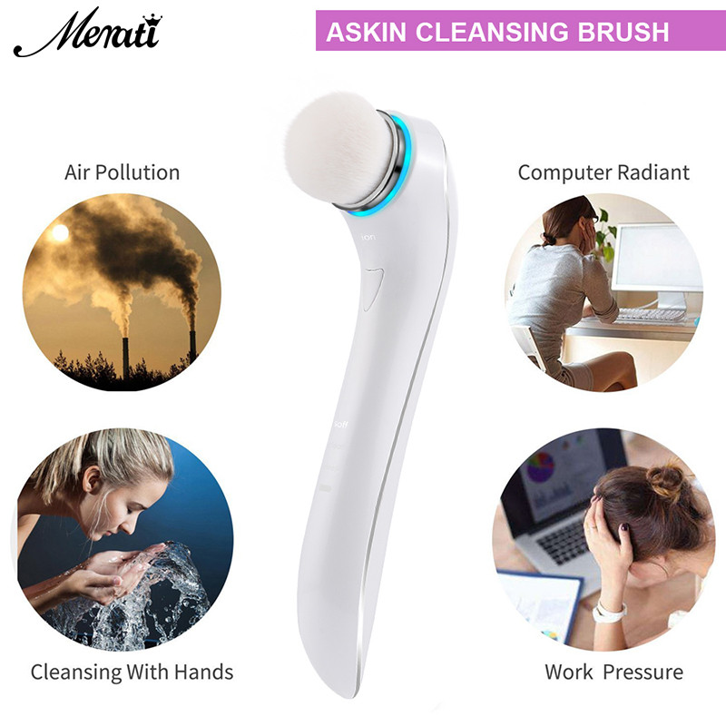 Waterproof Face Cleansing Brush Ultrasonic Washing Machine Skin Equipment Face Cleansing Instrument Facial Care Tools portable ultrasonic skin care instrument facial massager cleansing wrinkles beauty machine