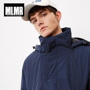 Image 4 - MLMR hommes à capuche Parka manteau à capuche veste JackJones nouvelle marque homme 218309501