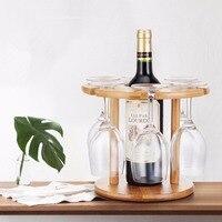 Dewel wine rack wine holder wine bottle holder wine glass holder for bar accessories home bars kitchen organizer and storage