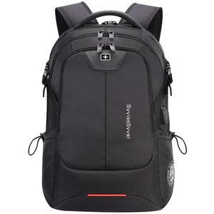 Image 3 - SWICKY mochila multifunción de gran capacidad para hombre, morral masculino de gran capacidad, resistente al agua, con carga usb, para viaje y portátil de 15,6 pulgadas