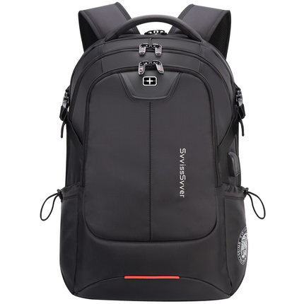 Image 3 - svvisssvver multifunction large capacity male bag fashion travel usb charging waterproof anti theft 15.6inch laptop backpack men-in Backpacks from Luggage & Bags