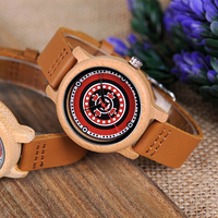 BOBO BIRD Brand Women Watches 37mm Bamboo Wood Ladies Watch Female Clock Lady Quartz Watch For