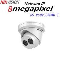 히크 비전 IP 카메라 4 미리메터 렌즈 DS-2CD2385FWD-I 미니 네트워크 터렛 CCTV 보안 메가 픽셀 POE 카메라 30 메터 IR, H.265 돔 카메