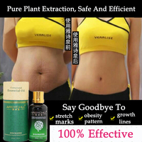 Natural Potent To Stretch Marks Essential Oils Skin Care Treatment Cream Stretch Marks Remover Obesity Postpartum