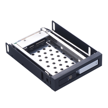 Uneatop 2.5in aluminum sata case hd 2TB 2.5 adapter hard disk box floppy bay sata hdd caddy ssd hdd enclosure for rack