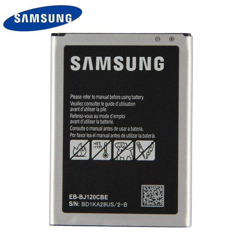 Bateria original de samsung EB-BJ120CBE para samsung galaxy express 3 j1 2016 j120 SM-J120A SM-J120F j120a j120h j120ds 2050 mah