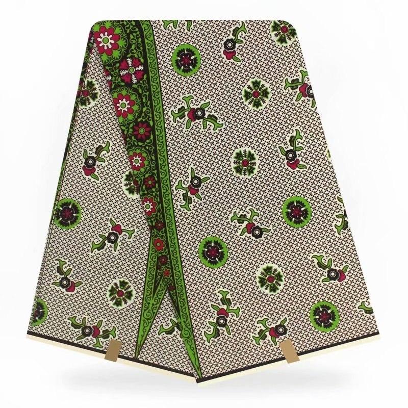 100% algodão ancara real cera jérsei tecido para mulher vestido