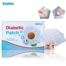 лучшая цена 4bags=24pieces Diabetic Patch Diabetes Herbal Diabetes Cure Lower Blood Glucose Treatment Sugar Balance Plaster D1790