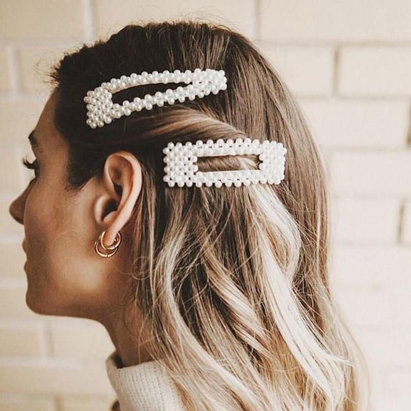 Unbranded Vintage Pearl Hair Clip Barrette