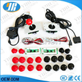 Free shipping DIY Arcade Game KIT for PC/PS2/PS3 USB Zero Delay Encoder+SANWA Joystick+ SANWA 30&24mm Push Button+cable for PCB