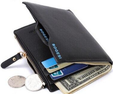 Neue Männer Brieftasche Kurze Wallet Card Pack Großhandel Geldbörse